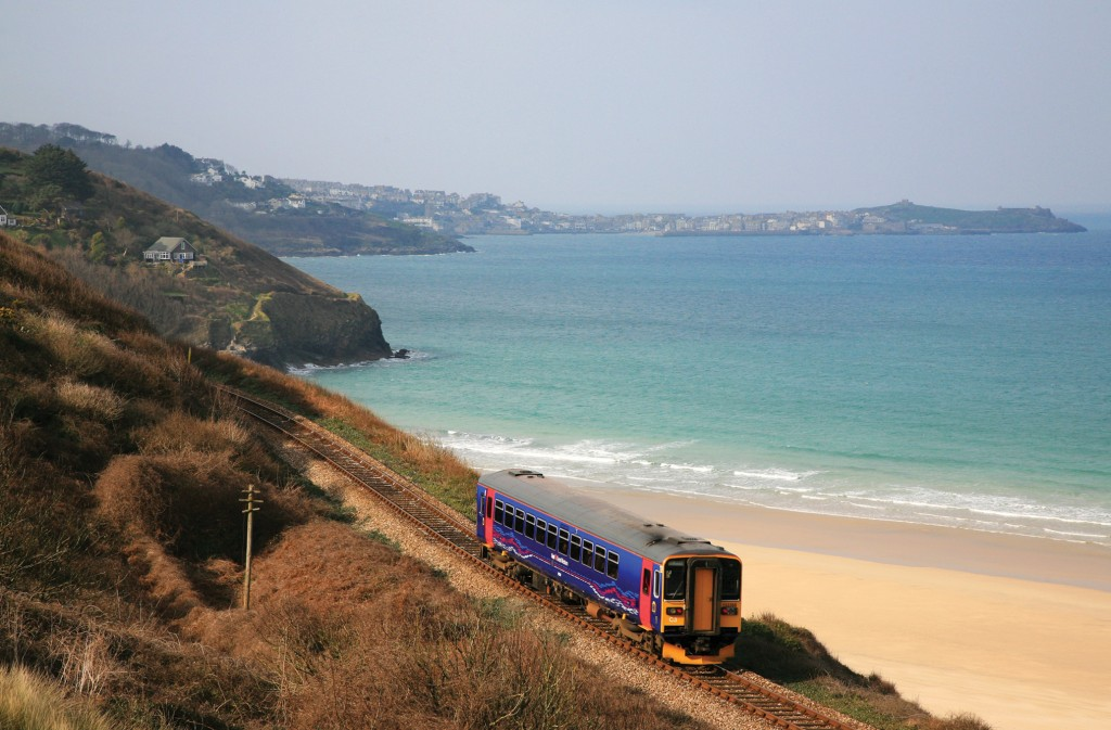 The St Ive Bay line (Image Rail).
