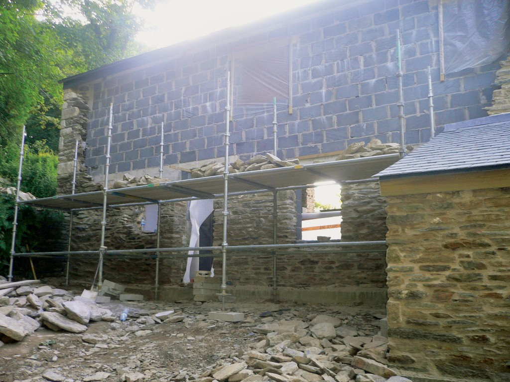 Penwarne manor restoration