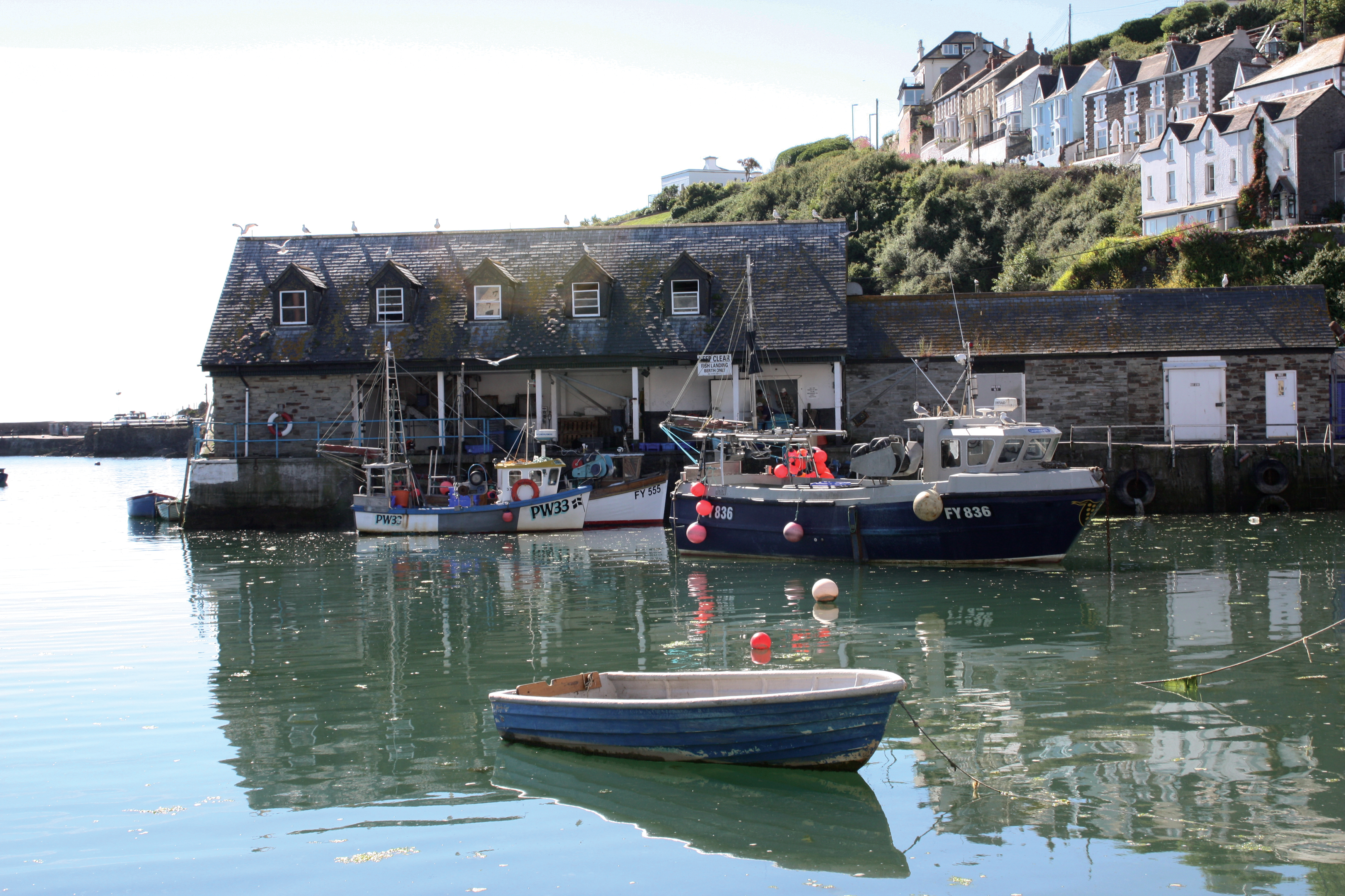Harbour Boats Mevagissey